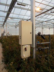 Klik op de foto om het aanvraagformulier voor een elektrische installatie in de tuinbouw, of assimilatiebelichting